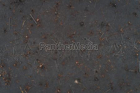 veduta aerea del campo di burn