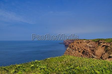 heligoland coastline