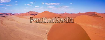 paesaggio aereo hidden vlei in namibia