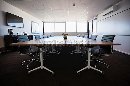svuota sala riunioni moderna