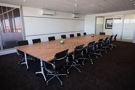 interno vuoto moderno sala riunioni ufficio