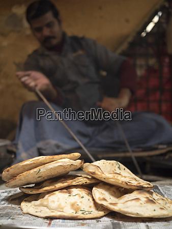 tandoori roti appena sfornati ad amritsar