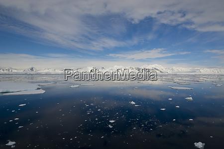 south of the antarctic circle near