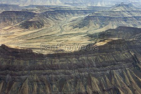 africa namibia damaraland aerial views of