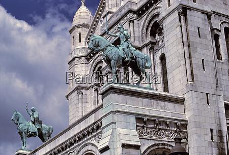 europa francia parigi statue esquestri di