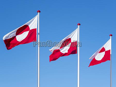 the flag of greenland nuuk capital