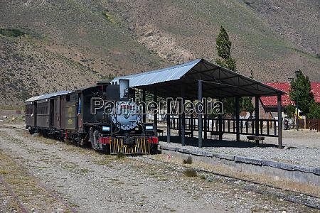 train station of la trochita the