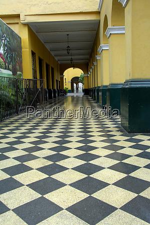 south america peru lima convent santo
