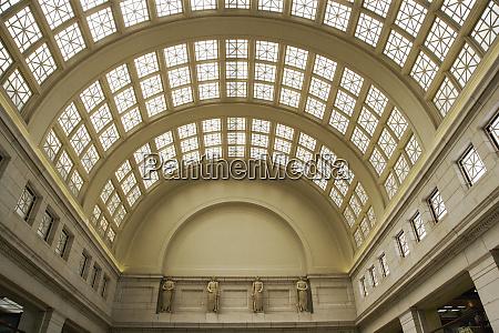 usa washington dc interior view of