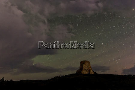 cieli stellati al devils tower national