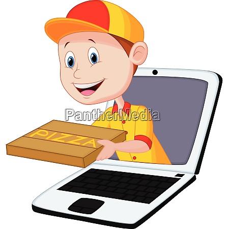 consegna pizza online