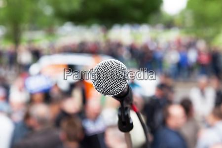 protest public demonstration