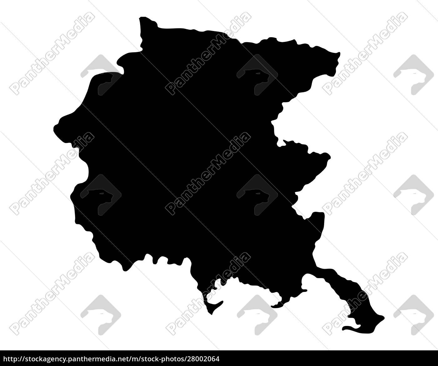 mappa, della, giulia, friuli-venezia - 28002064