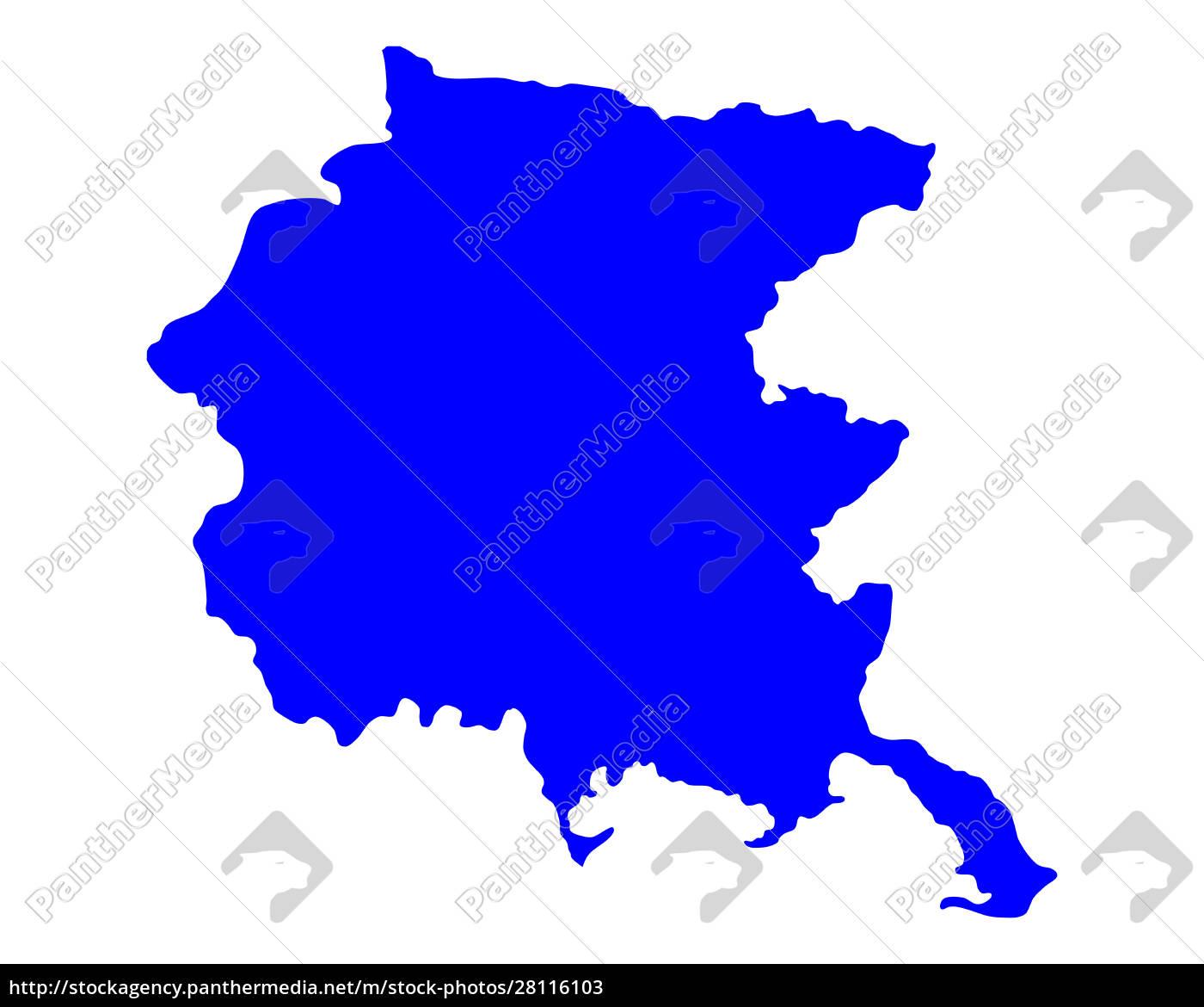 mappa, del, friuli-venezia, giulia - 28116103