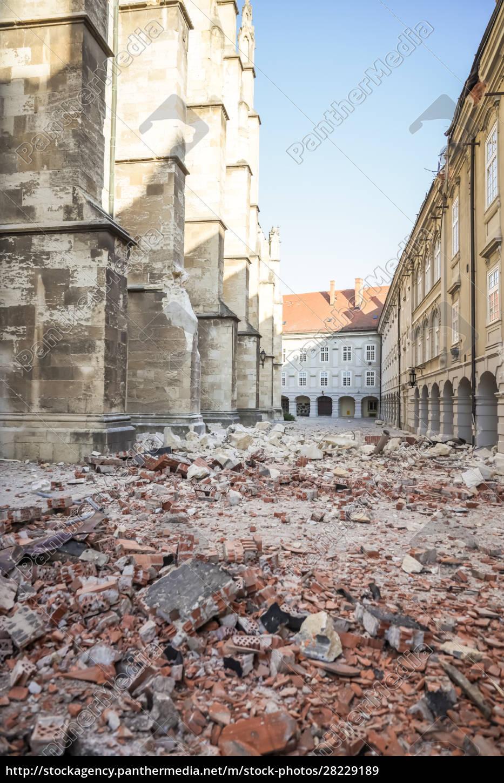 la, cattedrale, danneggiata, dal, terremoto, di - 28229189