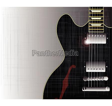 vecchia chitarra grunge blues