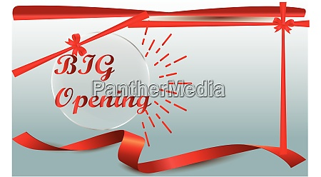 grand, opening, invitation, on, abstract, backgrounds - 28581632