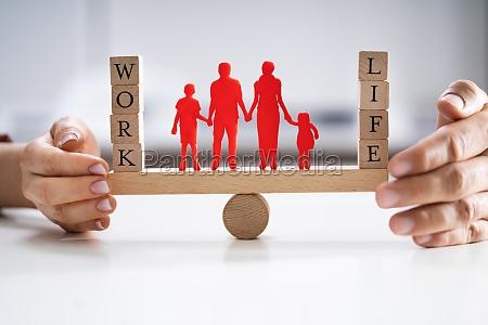 proteggere, l'equilibrio, tra, lavoro, e, vita - 28695418