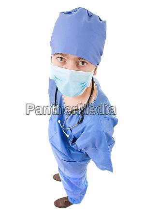 medico a figura intera