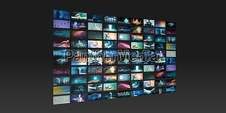 tecnologia di intrattenimento e nuovo servizio