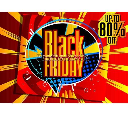 poster di vendita del black friday