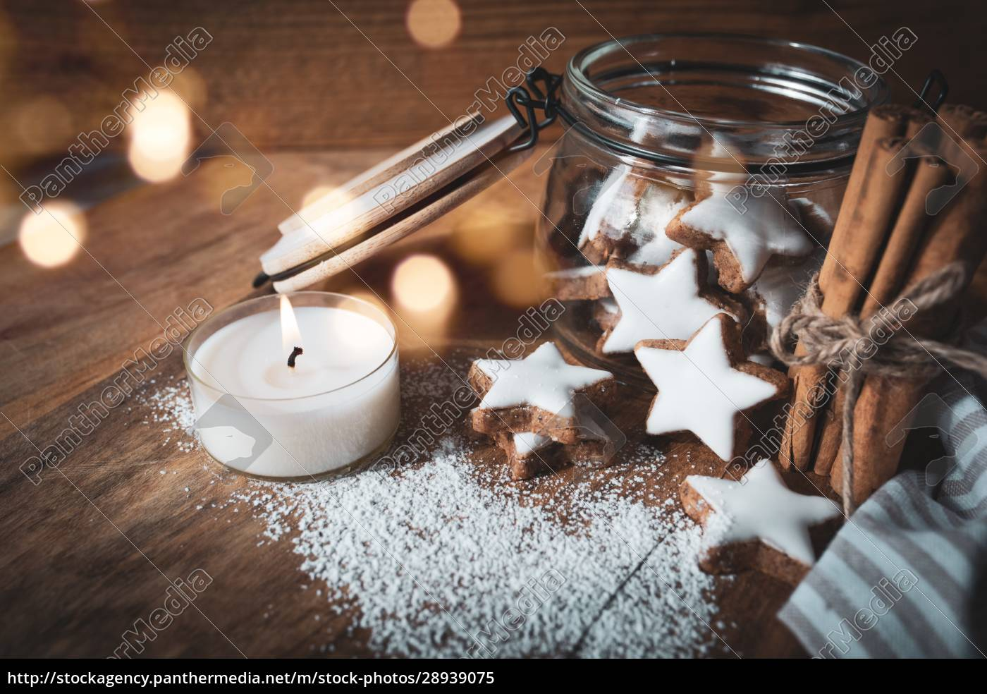 christmas, still, life, with, cinnamon, stars - 28939075