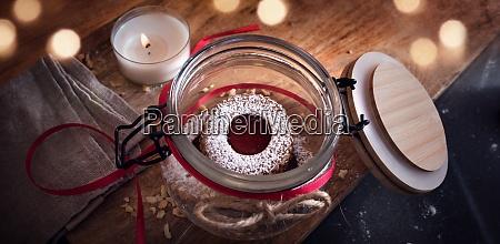 biscotti tradizionali linzer fatti in casa