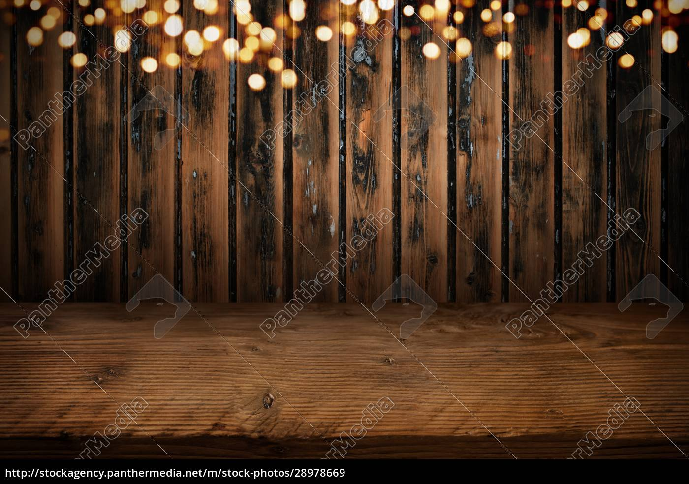 board, wall, with, wooden, table, and - 28978669