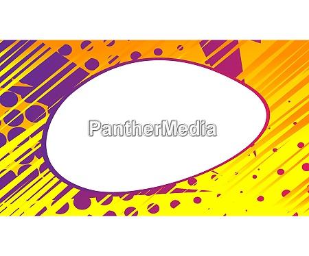 cartone animato sfondo colorato con spazio