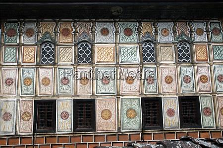 moschea dipinta di aladza tetovo macedonia