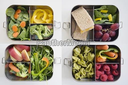 scatole, per, il, pranzo, con, verdure - 29034135