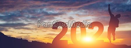 buon background di capodanno inizio 2021