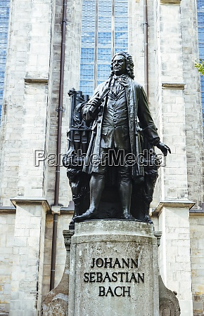 germania lipsia bach memorial davanti alla