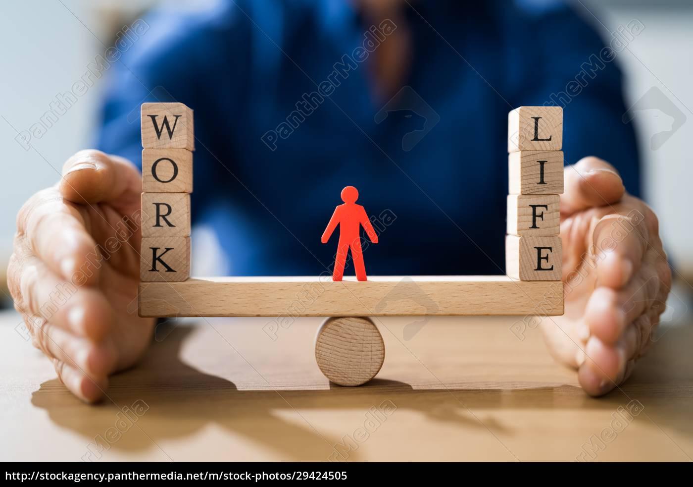 scelta, dell'equilibrio, tra, vita, professionale, e - 29424505