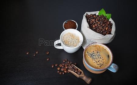 fare il caffe natura morta