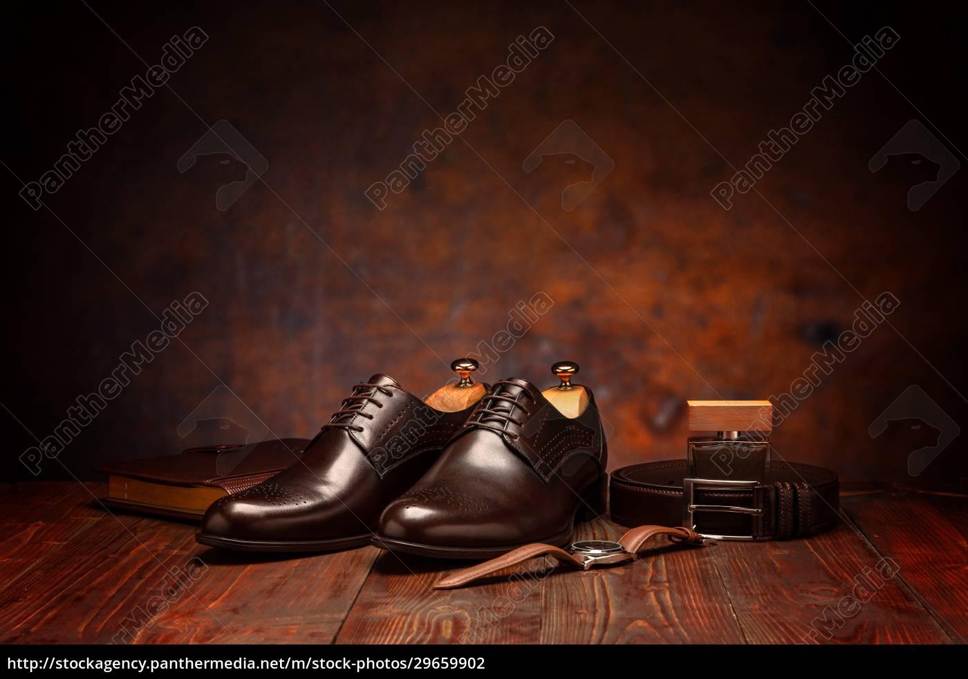 uomo, d'affari, moda, natura, morta - 29659902