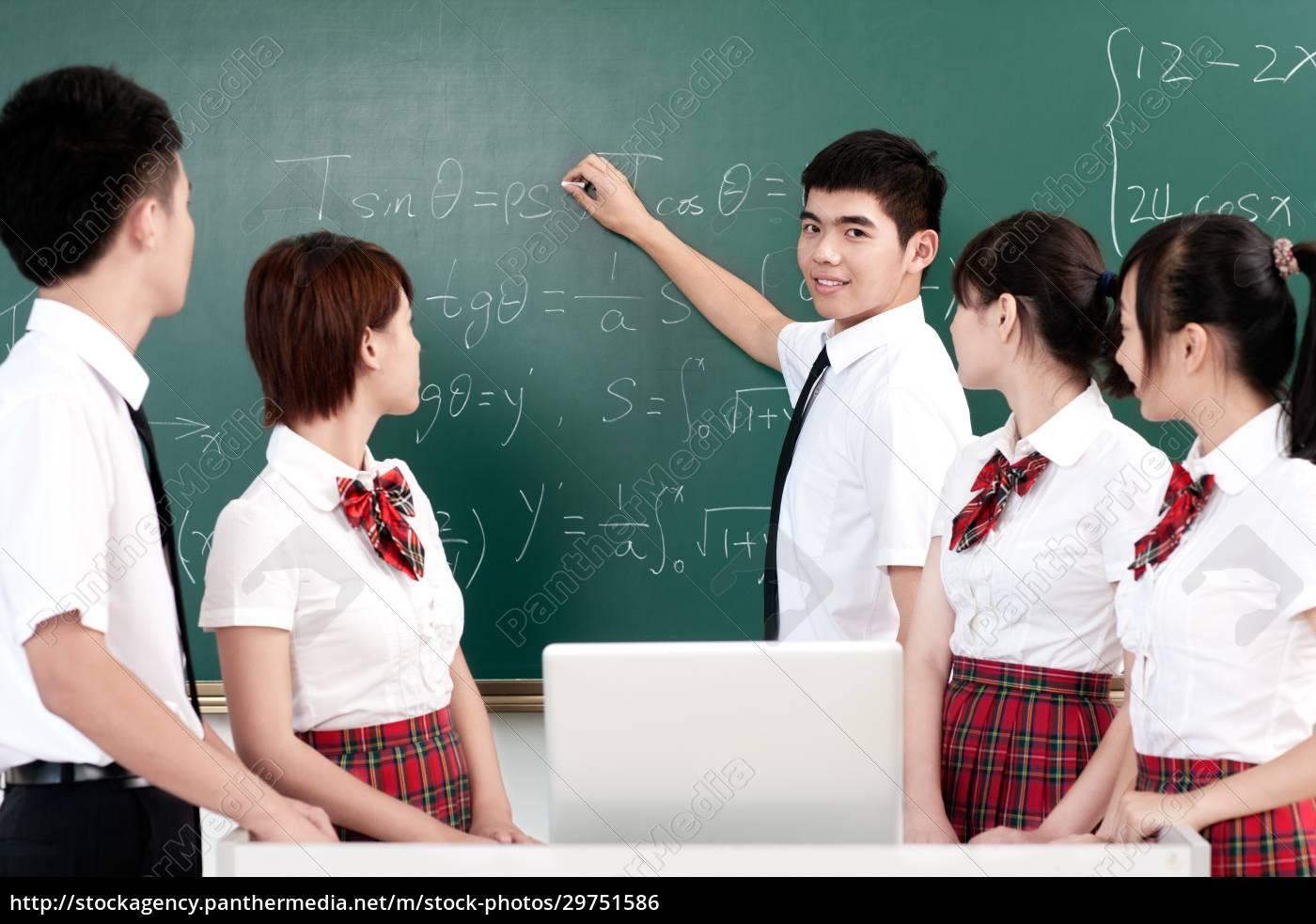 scuola, uniforme, laptop, studenti, delle, scuole - 29751586