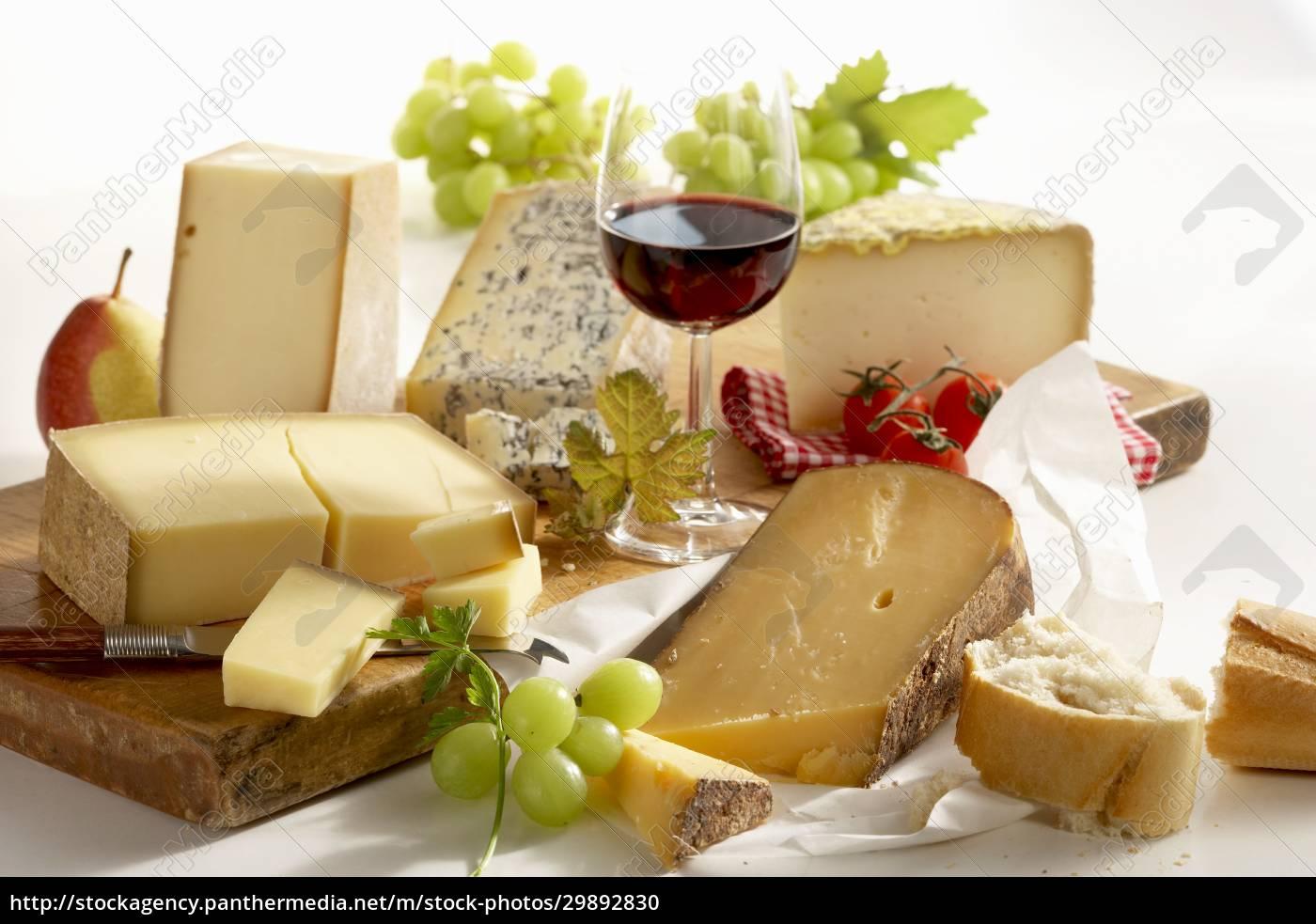 una, natura, morta, di, formaggi, francesi - 29892830