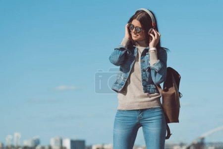 informatica, Vista, Bello., persona, Femmina, giovane - B165391768
