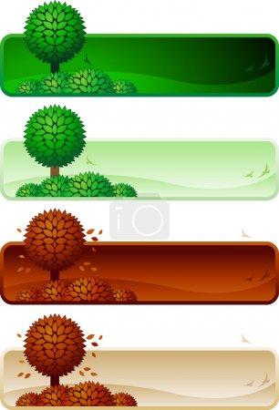verde, Colore, immagine, vettore, sfondo, Sfondi - B22812320