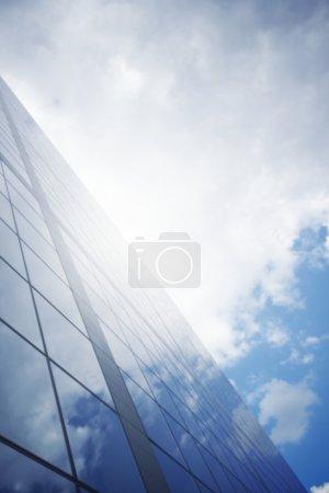 azzurri, sfondo, sfondi, prospettiva, vista, la progettazione - B12753492