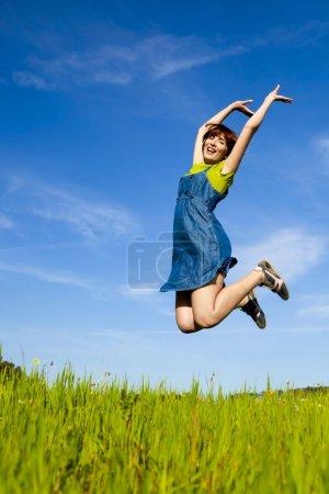 tempo libero, verde, divertimento, Blu, Su, Cielo. - B5066015