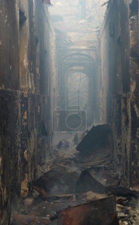 rischio, luce, pericolo, fumo, edificio, Ustione - B2741511