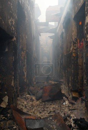 rischio, luce, pericolo, fumo, edificio, Ustione - B2741556